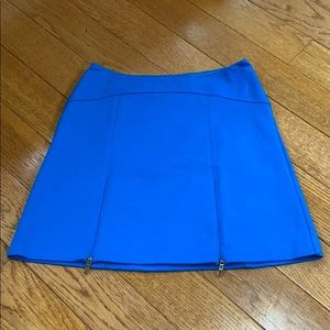 Cooperative Bright Blue A-line Mini Skirt